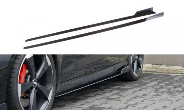 Sport Seitenschweller Ansatz V.2 passend für Audi RS3 8V FL Sportback