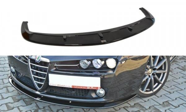 Front Ansatz für v.2 ALFA ROMEO 159 schwarz Hochglanz