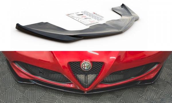 Front Ansatz passend für Alfa Romeo 4C schwarz Hochglanz