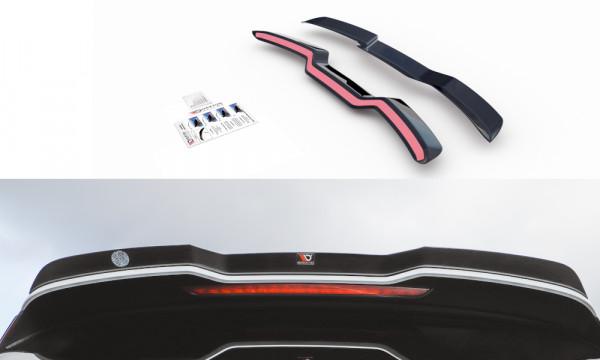 Spoiler CAP V.3 passend für Audi RS3 8V / 8V FL Sportback schwarz Hochglanz