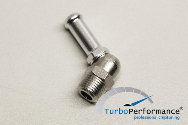 BMW N54/N55 Charge Pipe Adapter für Wasser-Methanol Anschluss, 1/8 Zoll