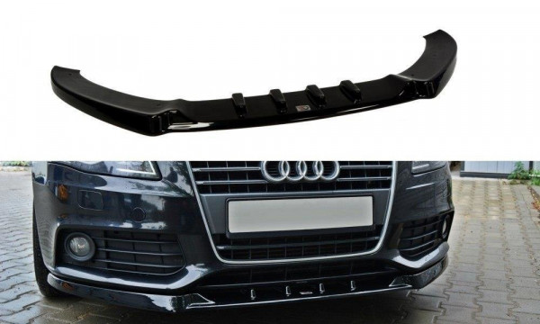 Front Diffuser V.1 Audi A4 B8 schwarz matt