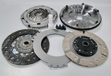 2 discs Clutch kit for Audi S3 / VW 1.8T 02M 6-speed