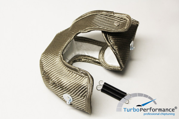 Turbocharger heat protection Titan for IS38 Golf 7 GTI, Golf 7 R, Audi A3 S3 8V, 2.0 / 1.8 TSI Gen3