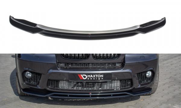 Front Ansatz passend für BMW X5 E70 Facelift M Paket schwarz Hochglanz