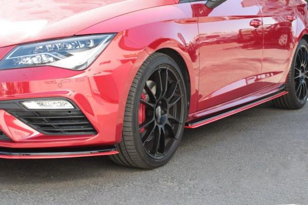 Seitenschweller Ansatz passend für v.3 Seat Leon Mk3 Cupra/ FR Facelift
