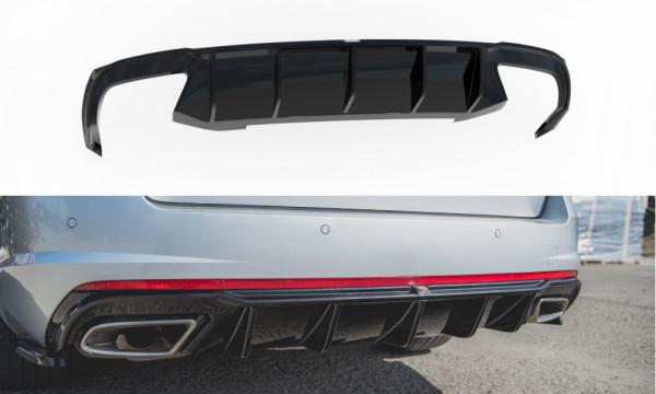 Diffusor Heck Ansatz V.2 passend für Skoda Octavia RS Mk3 / Mk3 FL Hatchback / Kombi