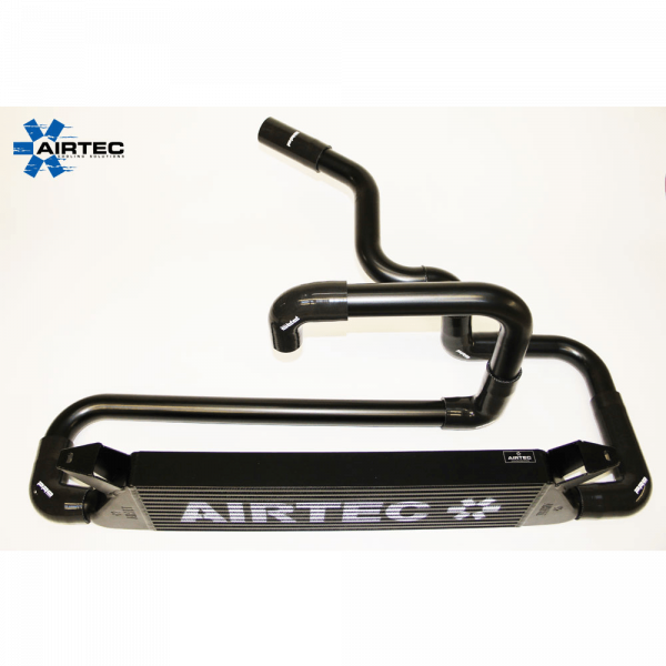 AIRTEC Ladeluftkühler Kit Stage 1, Ford Focus RS Mk1, 70mm inkl. Boost Pipes, ATINTFO33