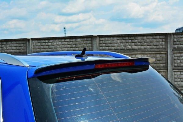 Spoiler CAP für AUDI S4 B6 Avant schwarz matt