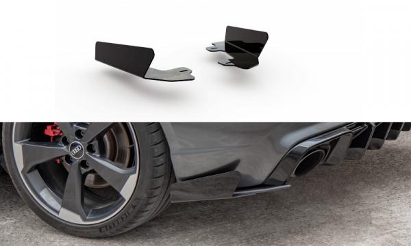 Rear Side Flaps Audi RS3 8V Sportback schwarz Hochglanz