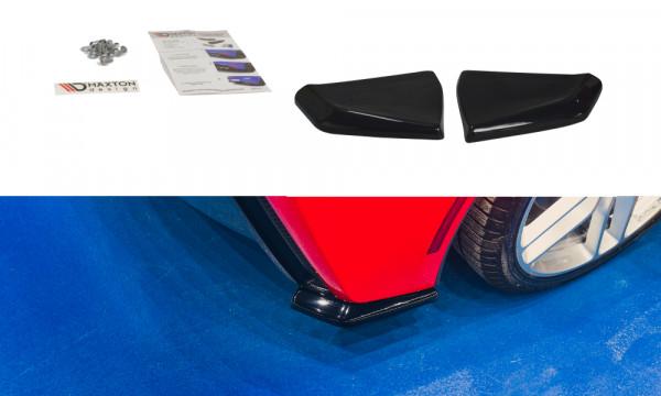 Heck Ansatz Flaps Diffusor V.1 passend für CHEVROLET CORVETTE C7 schwarz matt