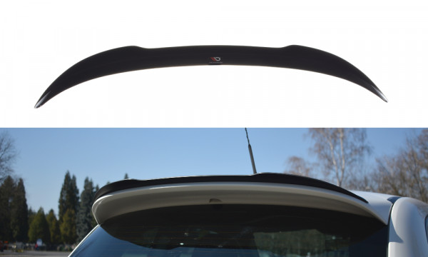 Spoiler CAP passend für passend für FIAT 500 ABARTH MK1 schwarz matt schwarz matt