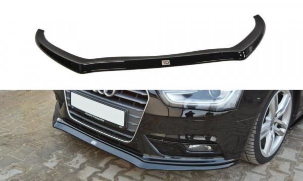 Front Diffuser V.2 Audi A4 B8 FL schwarz matt