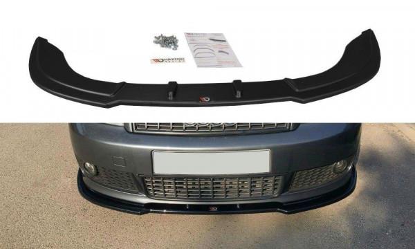 Front Ansatz V.2 passend für Audi A4 S-Line B6 schwarz Hochglanz