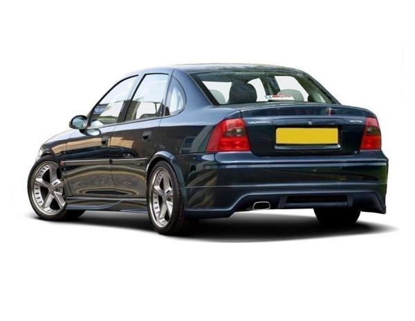 Diffusor Heck Ansatz passend für OPEL VECTRA B (Limousine & HATCHBACK, Facelift)