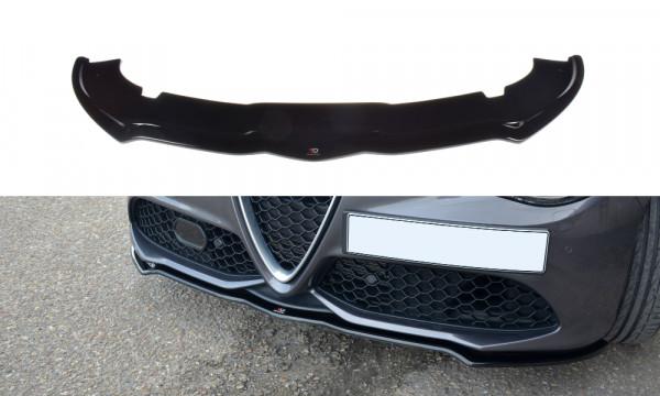 Front Ansatz V.1 passend für ALFA ROMEO GIULIA VELOCE Carbon Look