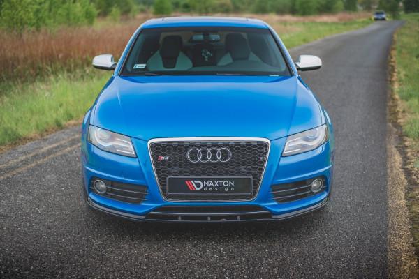 Front Ansatz für Audi S4 / A4 S-Line B8 schwarz matt
