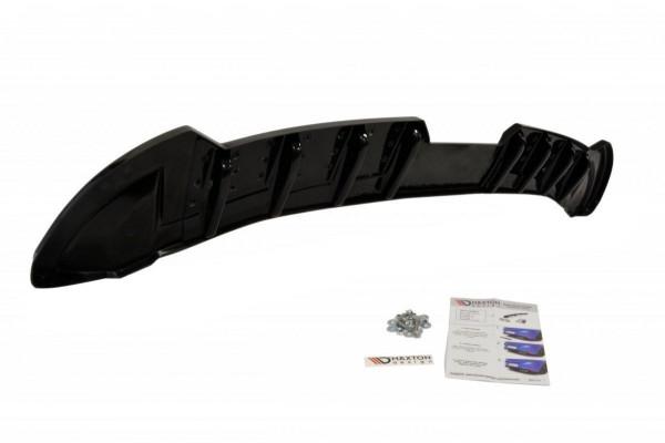 Diffusor Heck Ansatz für SEAT IBIZA 4 SPORTCOUPE (vor Facelift) DTM LOOK schwarz Hochglanz