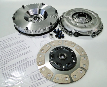 Clutch kit with 9Pad sintered metal disc for Audi Rs4 & S4 / 2.7T + Sachs Performance pressure plate