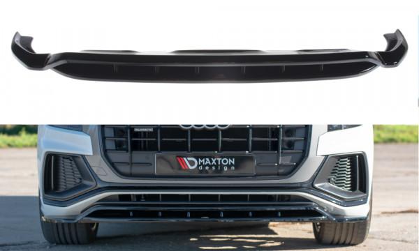 Front Ansatz passend für Audi Q8 S-line Carbon Look