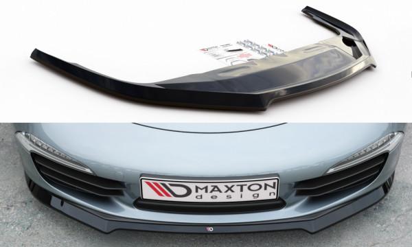 Front Ansatz V.1 passend für Porsche 911 Carrera 991 schwarz matt
