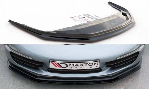 Front Ansatz V.2 passend für Porsche 911 Carrera 991 schwarz Hochglanz