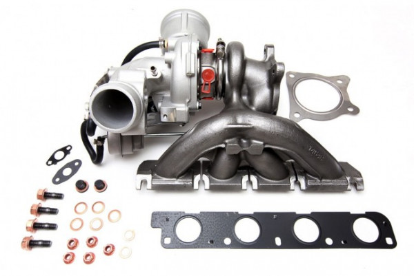 HPA 2.0TFSI / TSI K04 Hybrid Turbo conversion set for longitudinal engines, VAG with IHI / K03 Important notice: This is an automatic translation. Please note that only the original german description is valid for a legally purchas