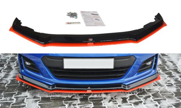 Front Ansatz für V.5 SUBARU BRZ FACELIFT Carbon Look