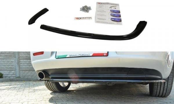 Mittlerer Diffusor Heck Ansatz für ALFA ROMEO 159 Carbon Look