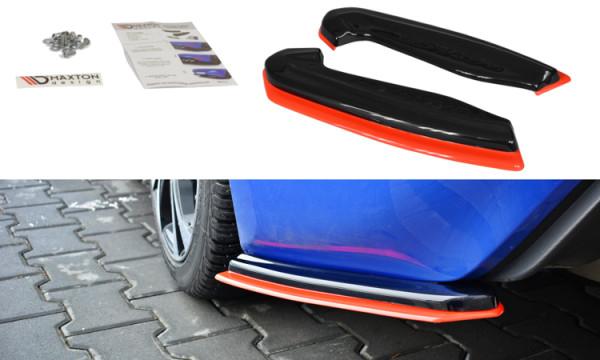 Heck Ansatz Flaps Diffusor für V.2 SUBARU BRZ FACELIFT Carbon Look
