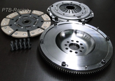 Kupplungs-Kit VW 2.8 V6 R32 240mm 9 pad Sinter gefedert Sachs Performance