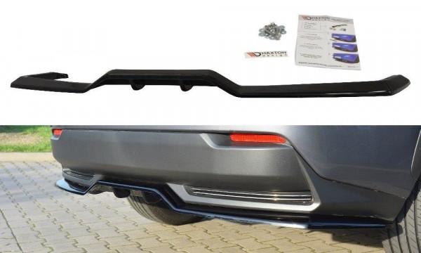 Mittlerer Diffusor Heck Ansatz für Lexus NX Mk1 H DTM LOOK schwarz matt