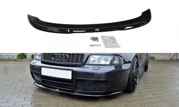 Front Ansatz für AUDI S4 B5 schwarz Hochglanz