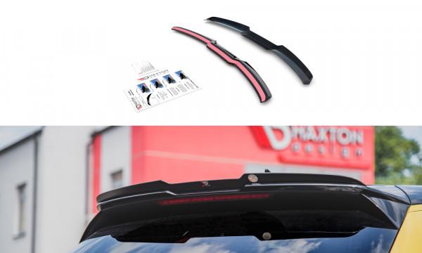 Spoiler CAP passend für Audi A1 S-Line GB schwarz Hochglanz