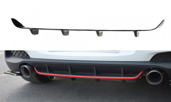 Diffusor Heck Ansatz passend für Hyundai I30 N Mk3 Hatchback