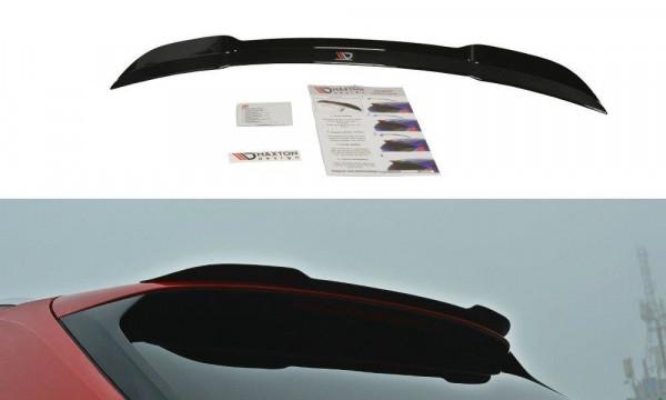Spoiler CAP passend für Audi S4 / A4 S-Line B9 Avant Carbon Look