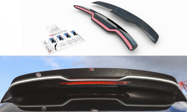 Spoiler CAP V.2 passend für Audi RS3 8V / 8V FL Sportback Carbon Look