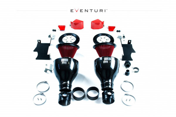 Eventuri carbon intake system for BMW E6x M5 M6 Important notice: This is an automatic translation. Please note that only the original german description is valid for a legally purchase agreement.