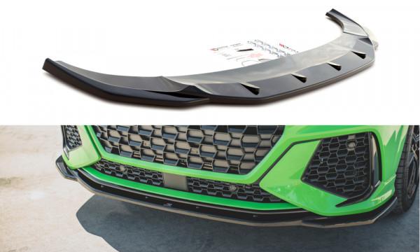 Front Ansatz V.2 passend für Audi RSQ3 F3 schwarz matt