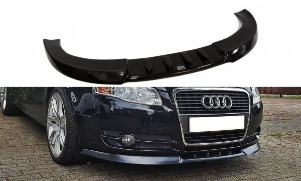Front Diffuser V.1 Audi A4 B7 schwarz Hochglanz