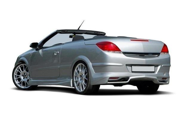 Diffusor Heck Ansatz passend für 1 Opel Astra H (Twin Top)