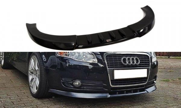 Front Diffuser V.1 Audi A4 B7 schwarz matt