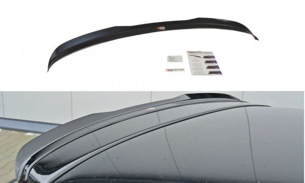 Spoiler CAP für Audi S3 8P FL schwarz matt
