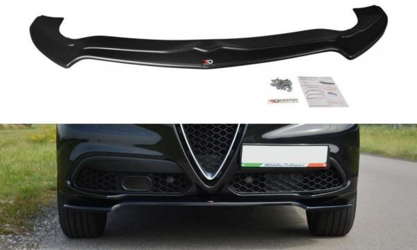 Front Ansatz V.1 passend für Alfa Romeo Stelvio Carbon Look