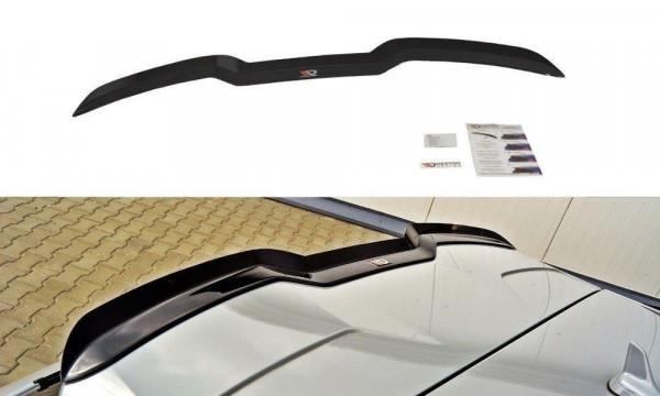 Spoiler CAP für V.1 Audi RS3 8V / 8V FL Sportback schwarz Hochglanz