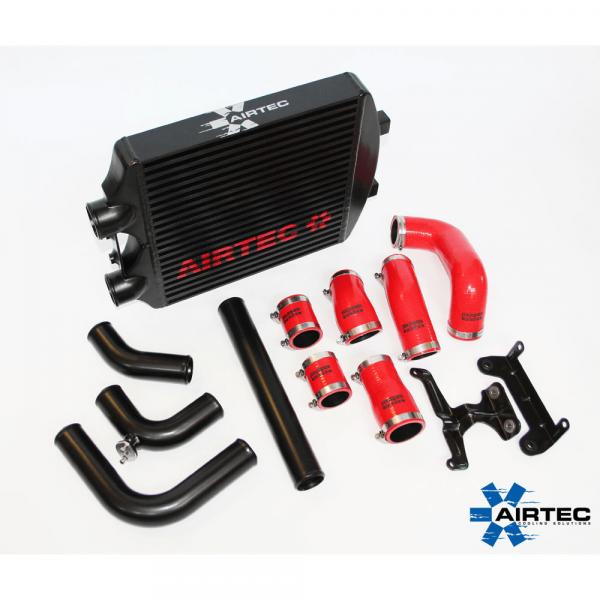 AIRTEC Ladeluftkühler Kit VAG Skoda Fabia VRS, Seat Ibiza 4, VW Polo, 1.9 TDI 131PS, ATINTVAG5
