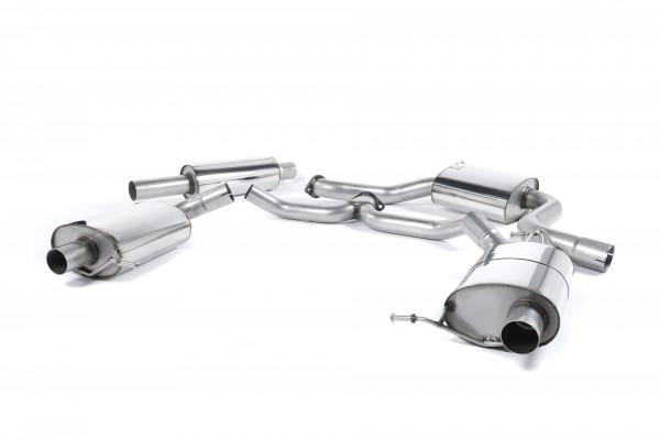 Milltek SSXSK020 Cat-back - Skoda Octavia vRS 2.0 TSI 220PS & 230PS Hatch & Estate (manual and DSG-