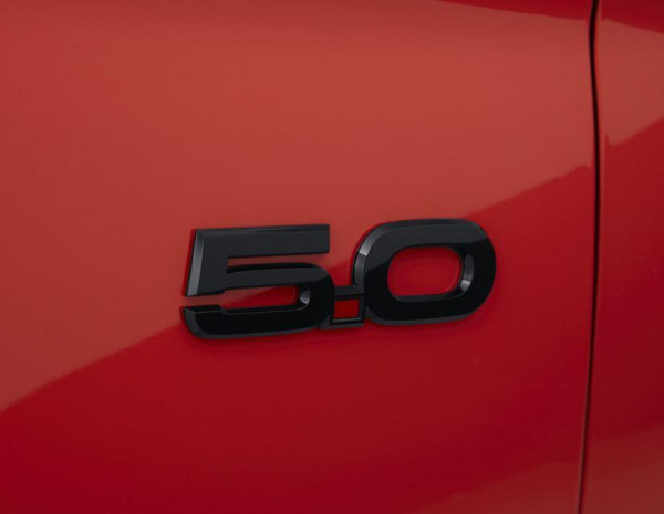 Ford Performance - 5.0 emblem left side, black, Ford Mustang from 03/2015 GT, 1912898
