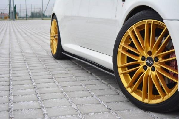 Seitenschweller Ansatz passend für Alfa Romeo GT schwarz Hochglanz