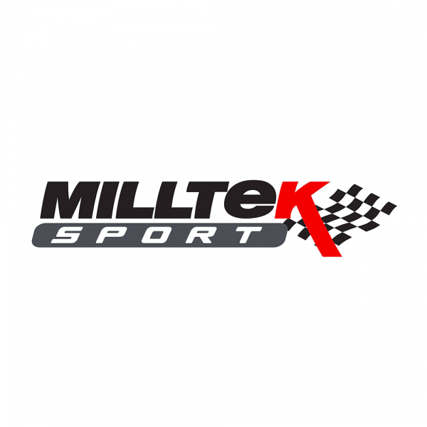 Milltek SSXVW551 GPF / OPF Bypass - Audi S3 2.0 TFSI quattro Saloon & Cabrio 8V.2 (GPF Equipped Model Important notice: This is an automatic translation. Please note that only the original german description is valid for a legally